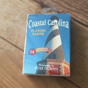 NIB - Coastal Carolina Playing Cards